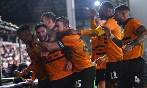 bf06d480115 FA Cup fourth-round replays  Newport 2-0 Middlesbrough and more – as it  happened