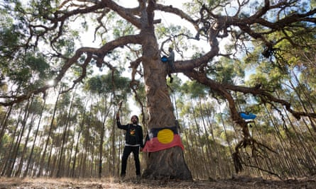 Djap Wurrung Sacred site protest just out of Ararat