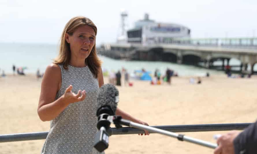 Vikki Slade, the leader of Bournemouth, Christchurch and Poole council