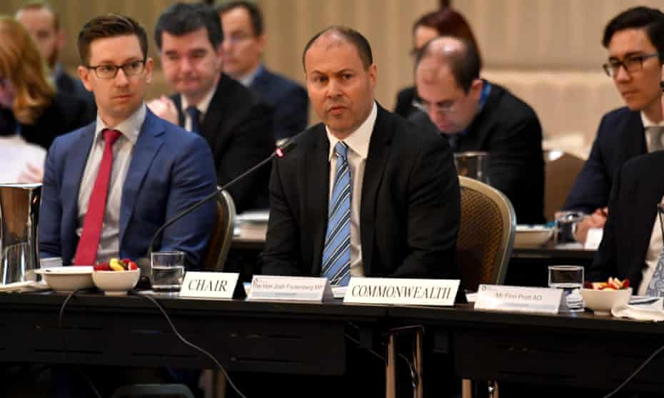 Energy minister Josh Frydenberg chairs the state and territory ministers' meeting on the national energy guarantee.