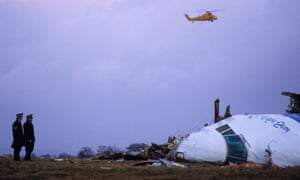 Pan Am flight 103 exploded above Lockerbie on 21 December 1988