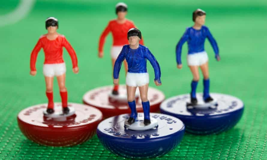 'The heady thrill of playing football': Subbuteo.