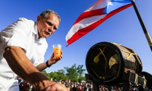Oscar López Rivera was released from prison after being convicted for seditious conspiracy in 1981. FALN claimed responsibility for a campaign of bombing in the 1970s and 80s.