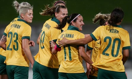Matildas coach Alen Stajcic believes that Australia is in line for medals after drawing Germany, Canada and Zimababwe in their Rio 2016 Olympics group.