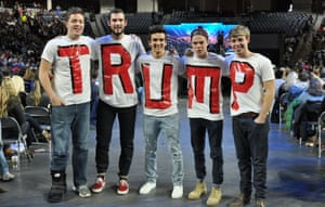 Liberty University students in 2016. A petition said the movie could reflect 'very poorly' on the university.