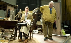 The Habit of Art, Alan Bennett's play about WH Auden and Benjamin Britten, at the Lyttelton Theatre, London, 2009.