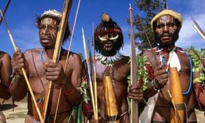 Lani hunters West Papua