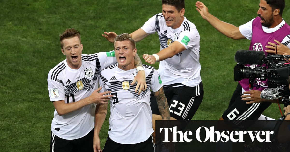 8d333ee1c70 Toni Kroos brings off late miracle for Germany to stun Sweden ...