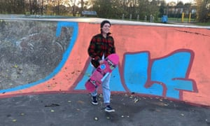 Annie McCormack, who has set up a girls' skating collective in Hull.