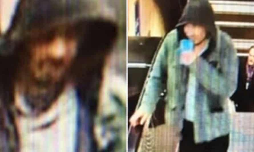 Swedish police released these images of a man suspected of being involved in the attack.