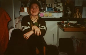 Lynsey Hanley In first term at university, London, 1994