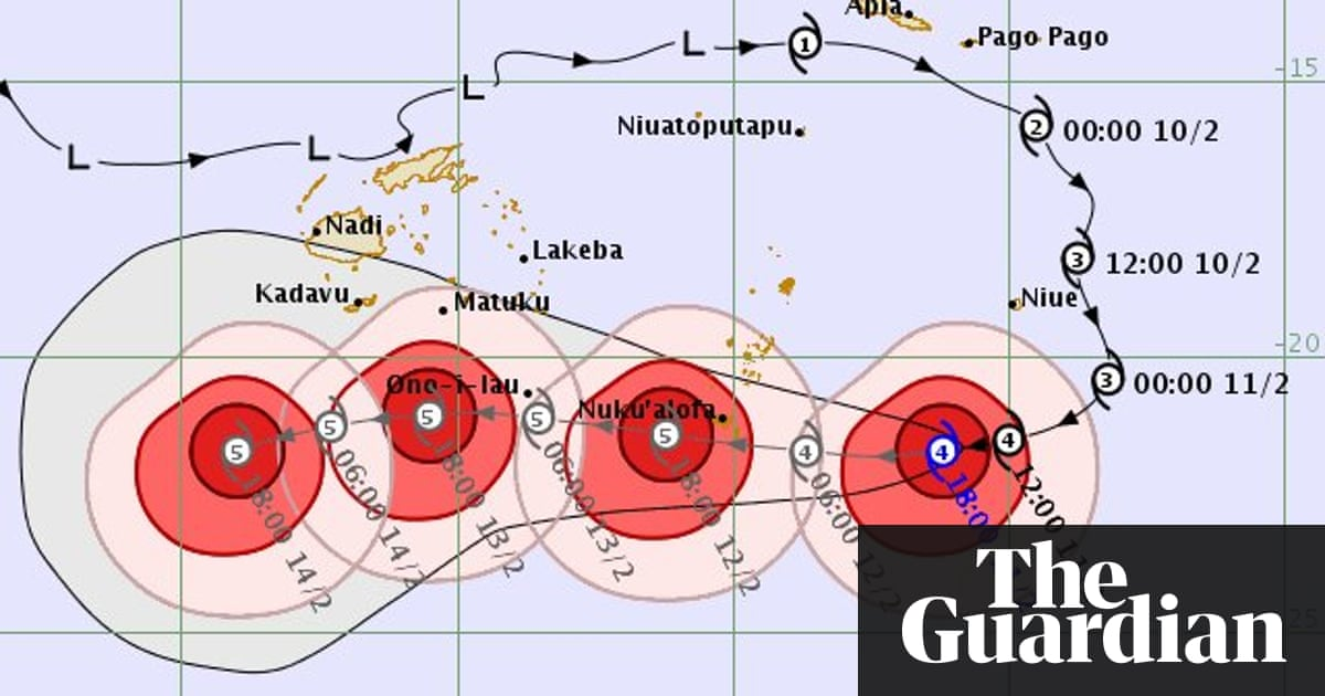 Cyclone Gita: Tonga declares state of emergency as storm strengthens