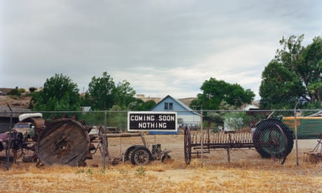The big picture: a deadpan roadside sign in Nevada