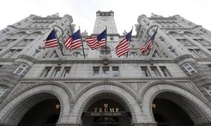 The Trump International Hotel in Washington DC.