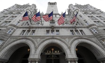 .The Trump International Hotel in Washington DC.