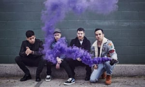 They haven't retreated into their comfort zone … Fall Out Boy.