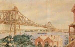 Norman Selfe's proposal for Sydney Harbour Bridge, 1903