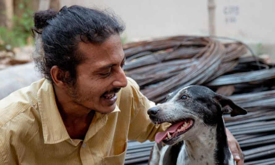 Best friends … Pariah Dog.