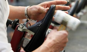 Some workers said they were expected to make up to 60 pairs of shoes aper day