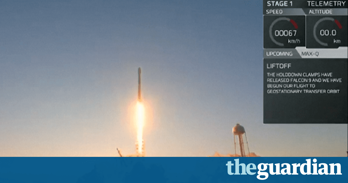 SpaceX successfully launches reused Falcon 9 rocket – video