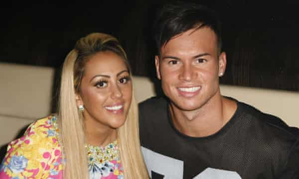 Sophie Kasaei and Joel Corry in 2013.