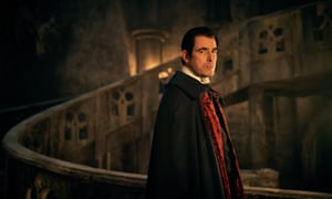 Claes Bang as Dracula in the BBC series