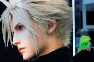 Looks amazing … Final Fantasy VII at E3.