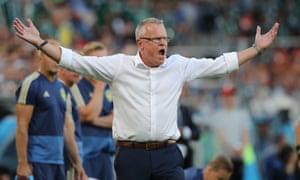 Sweden manager Janne Andersson