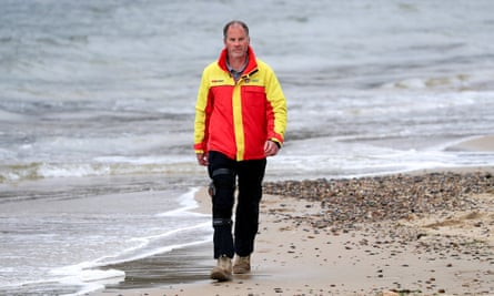 'To be able to help when they are so vulnerable is humbling in a way, but also gives a sense that you're trying to make a difference, Tony van den Enden, chief executive of Surf Life Saving Tasmania, Hobart said.