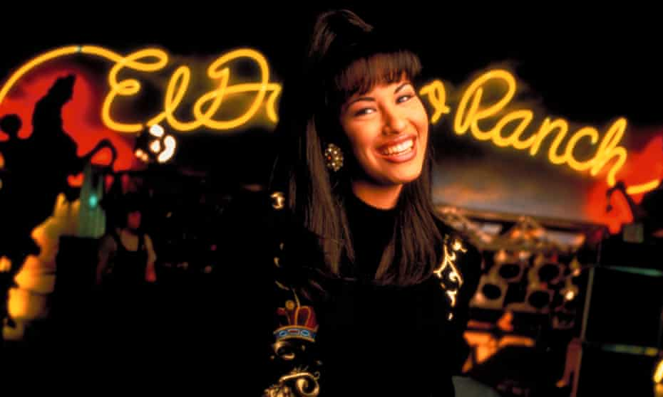 Selena Quintanilla, who was murdered by her fan club manager.