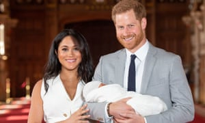 Harry and Meghan announce the birth of son Archie.