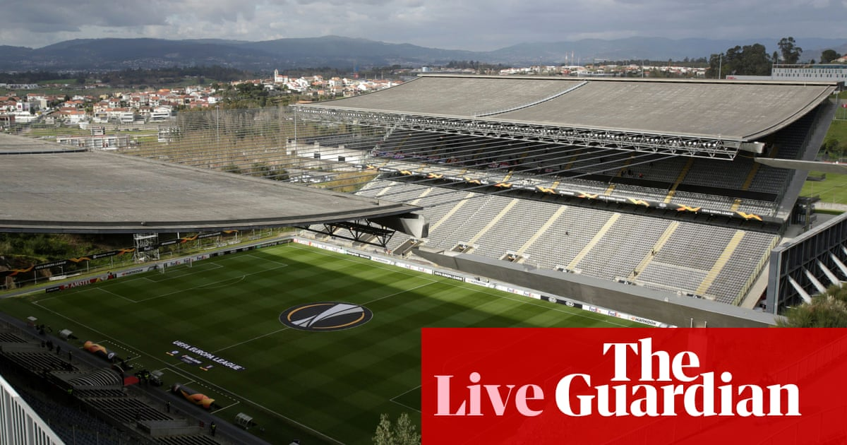 Braga v Rangers: Europa League last 32, second leg – live! - the guardian