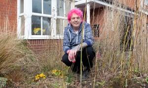Garden designer Alan Gardner