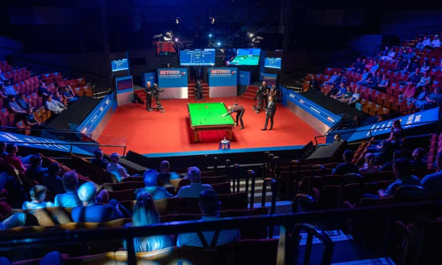 World Snooker Championships in the Crucible in Sheffield
