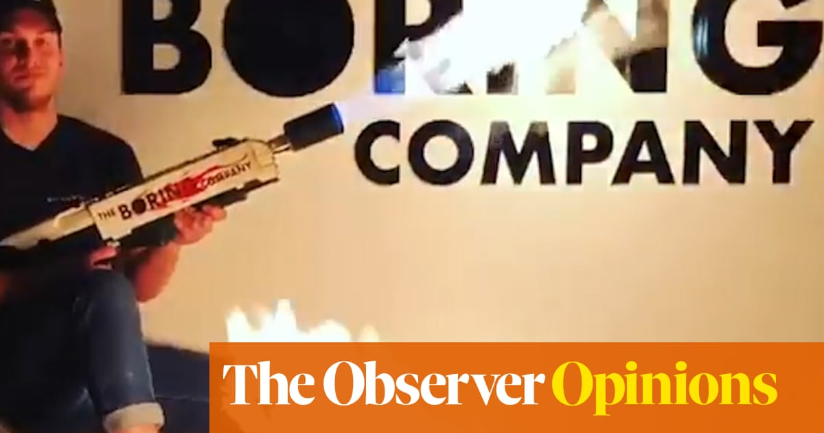 e4980c41 Don't buy my flamethrowers, says Elon Musk. Where's the fun in that ...