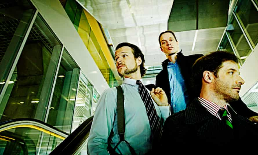 We mean business … Anton Eger, Jasper Høiby and Ivo Neame of Phronesis.