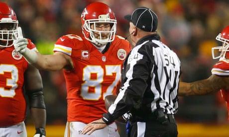 buy online 54df3 2e93d Referee called 'unfit to wear zebra jersey' by Chiefs' Kelce ...