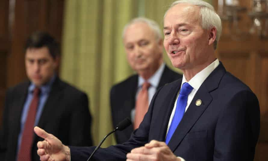 Governor Asa Hutchinson signed a law banning transgender women and girls from competing in school sports teams consistent with their gender identity on 23 March.