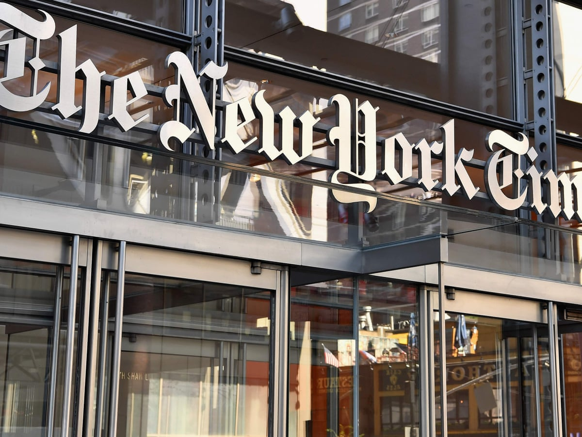New York Times Changes Front Page Trump Headline After Backlash New York Times The Guardian