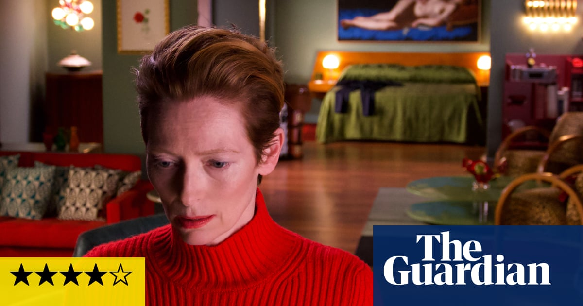 The Human Voice review – Tilda Swinton on the verge in Almódovar's tale of despair