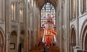 The helter skelter will be at Norwich Cathedral until 18 August
