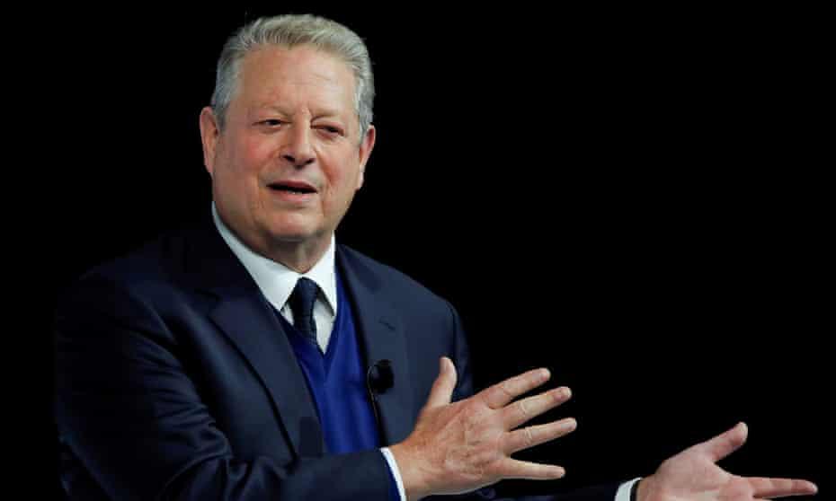 Former US vice-president Al Gore.