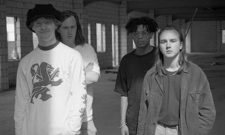 The Boo Radleys circa 1990. (l-r) Martin Carr, Tim Brown, Rob Cieka and Sice Rowbottom.