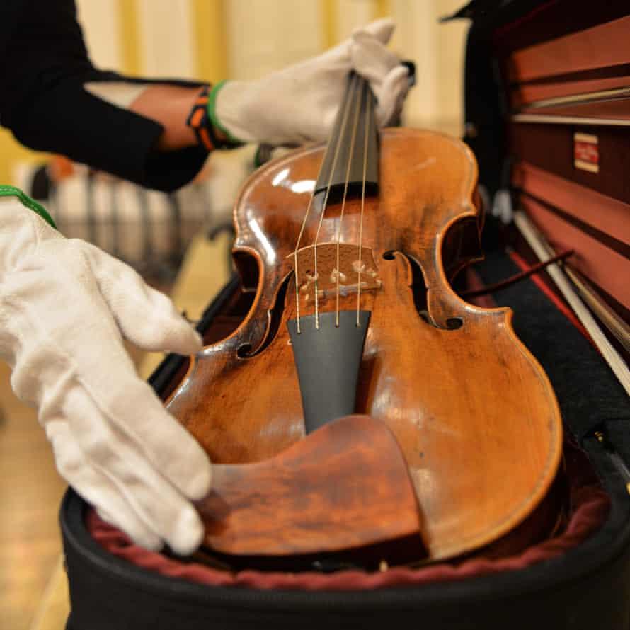 Mozart's violin