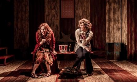 Evelyn Hoskins and Sara Poyzer in Assassins