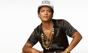 Bruno Mars consummates his love-in with Versace.