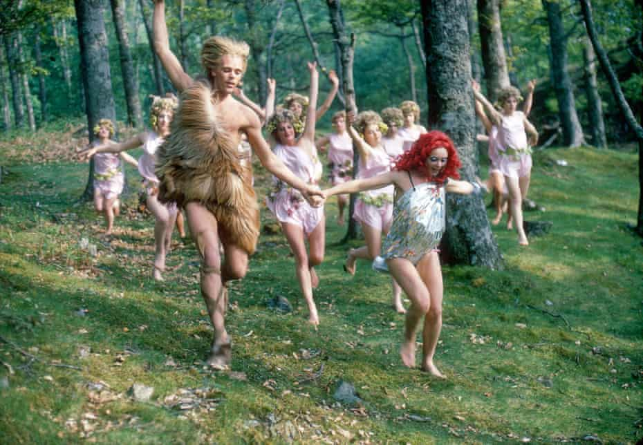 A scene from Ken Russell's film Dance of the Seven Veils.