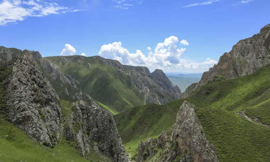 The cave in which the bone was found is in a rugged valley on the mountainous Tibetan plateau.