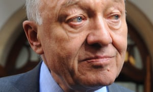 Ken Livingstone at Church House, Westminster, London, for the disciplinary hearing at which he faces a charge of engaging in conduct that was grossly detrimental to the party.
