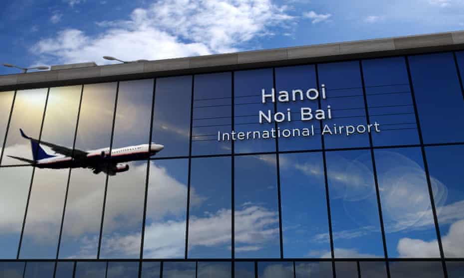 The twenty-seven Vietnamese nationals were flown from Birmingham to Vietnam on Wednesday.